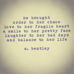 """Out of Chaos."" #abentley #poem #poems #poetry #typewriter #lovepoems #lovers #xoxo #romance #gf #bg #couple #happy #mood #chaos #girl #girls #life"