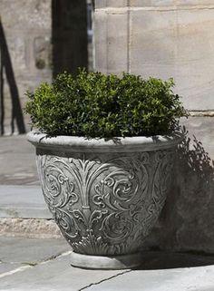 Campania International Cast Stone Arabesque Small Planter