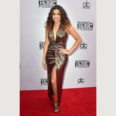 "See how good Jordin Sparks looks? ""There's an old red carpet trick that really makes you look confident and sleek,"" says Cavaco. ""Turn your body about 45 degrees to the side, swivel your shoulders towards the camera, plant one foot slightly in front of the other, and put all of your weight on your back leg. It simultaneously slims the waist, lengthens the legs, and makes you look taller. If you like the hand-on-hip pose and you have a short torso, place your hand lower than your actual…"
