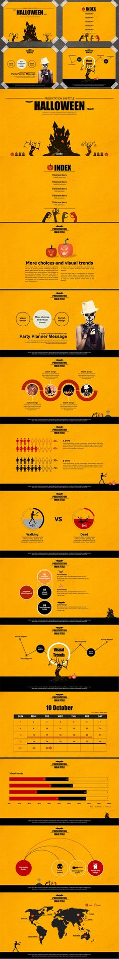 Halloween Presentation Use Powerpoint, Keynote  http://keynotor.blogspot.kr/