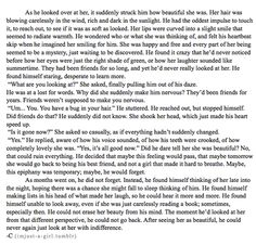 oh my word this is probably one of the most lovely and beautiful things i have ever read. so sweet and heart-warming. <3 <3 <3