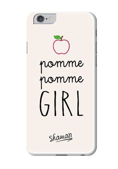 "Coque ""Pomme Girl"""