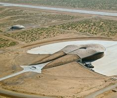 Spaceport America, New Mexico - Norman Foster
