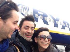 #Dublin, the arrival!!! Alberto, Mick and Nicoletta.