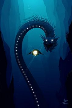 Sea Monsters A.K.A what occupies most of my nightmares