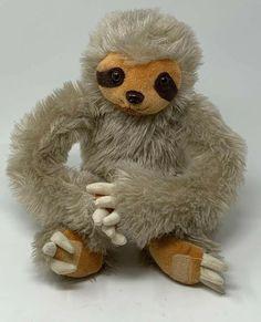 "Collective Goods Plush Three Toed Sloth 15"" Soft Stuffed Animal  #CollectiveGoods Plush Animals, Zoo Animals, Three Toed Sloth, Disney Plush, Cute Sloth, Bunny Plush, Baby Chicks, Plush Dolls, Pet Toys"