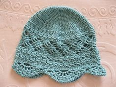 Ravelry: Audrey's Lace Cap pattern by Linda Price $5.50.
