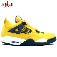 reputable site df874 91341 314254-702 Air Jordan IV 4 Retro Mens Basketball Shoes Tour Yellow Grey  A04012,Jordan-Jordan 4 Shoes Sale Online