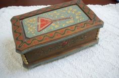 Vintage Collectible Music Box Jewelry Box by ThisandThatCapeCod