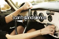 I just cannot. Even if it's just light white noise like a fan, I have to have something to break complete silence.