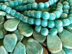 Gorgeous Russian Amazonite, just arrived this week! Come in to see these beauties in person. LH Bead Gallery   LHBeads.com
