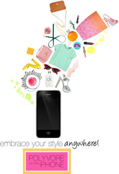 """iPhone App contest"" by timeak ❤ liked on Polyvore"
