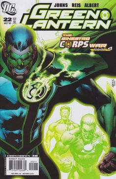Green Lantern #22 - Sinestro Corps War Part 4: Running Scared (Issue)