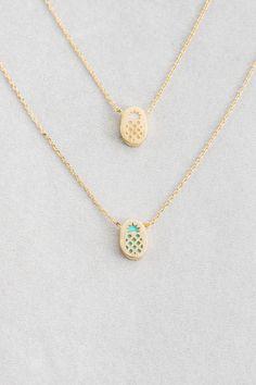 Lovoda - Pineapple Print Necklace, $15.00 (https://www.lovoda.com/pineapple-print-necklace/)