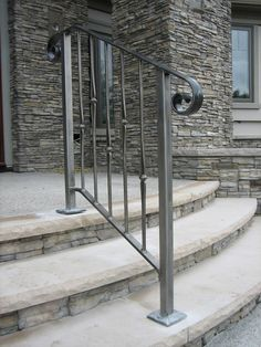 Marvelous Inject Some Personality In Your Home Decor With These Elegant Exterior  Wrought Iron Stair Railings.