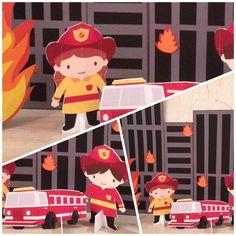 день рождения в стиле пожарник - Поиск в Google