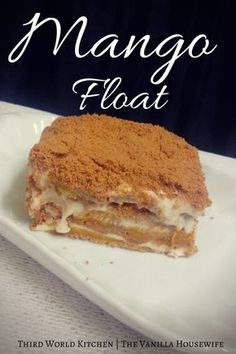 Mango Float - Summer Dessert