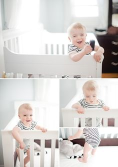 Little Leo's One Year Portraits