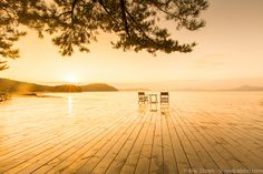 Places to see in Japan: Sunrise at the Benesse Park Hotel on Naoshima