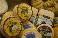 ARTESANO QUESO DE PEñAMELLERA (2012) | 'One of the top cows' milk cheeses of Asturias, shown with another artisan cheese well-known in Asturias, Vidiago.'  (pic. Gerry Dawes)     ✫ღ⊰n