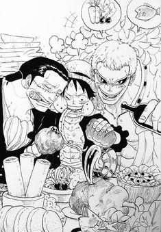 Doffi - Crocodile - Luffy