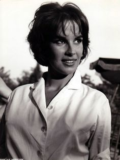 Antonella Lualdi, A Double Tour, 1959 // (born on 6 July 1931 in Beirut, Lebanon) is an Italian film actress. Her luminescent beauty has graced many Italian and French films in the 1950s and 1960s, notably in Claude Autant-Lara's film Le rouge et le noir in 1954, opposite Gérard Philipe.