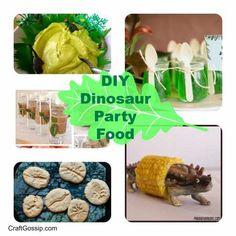 Party Food – Dinosaur food
