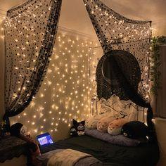 Cute Bedroom Decor, Cute Bedroom Ideas, Room Design Bedroom, Room Ideas Bedroom, Bedroom Inspo, Chill Room, Cozy Room, Hangout Room, Indie Room