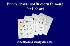 Picture Boards and Direction Following for L Sound