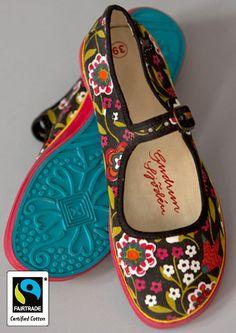 Hedvig canvas shoe – GUDRUN SJÖDÉN
