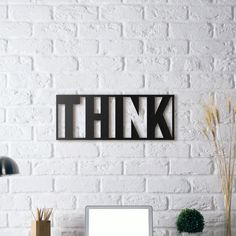 Metal Plaka - Think!