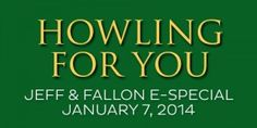 Howling For You - Jeff & Fallon especial. January 7, 2014.