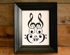 animals made out of music notes - Google Search