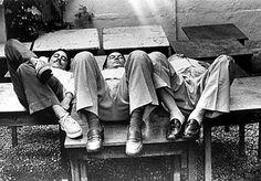 Junte Chico, Tom e Vinícius na visão do genial fotógrafo Evandro Teixeira e dá nisso.