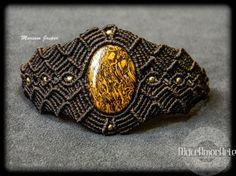 NEW!! Mariam Jasper macrame bracelet.  Macrame jewelry. Natural stone. Protection stone. All chakras