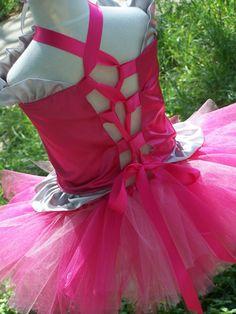 LaLaLoopsy Corset top and tutu Skirt set with by CHICLILLOVEBUGS