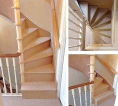 Square Spiral Stairs & Inspiraling Stair Systems & Spiral Staircases, Space Saving Source by ferraschoolfiel The post Square Spiral Stairs Loft Staircase, House Stairs, Spiral Staircases, Space Saving Staircase, Space Saving Bedroom, Spiral Stairs Design, Staircase Design, Attic Rooms, Attic Spaces