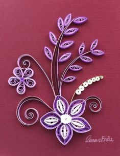 By Canan Ersöz. By Canan Ersöz. The post Quilling. By Canan Ersöz. appeared first on Paper Ideas. Quilling Birthday Cards, Paper Quilling Cards, Paper Quilling Tutorial, Paper Quilling Flowers, Paper Quilling Patterns, Quilling Craft, Quilling Ideas, Quilling Letters, Quiling Paper Art