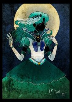 eternal princess sailor moon by mimiclothing on DeviantArt Arte Sailor Moon, Sailor Moon Fan Art, Sailor Moon Character, Sailor Neptune, Sailor Saturn, Sailor Moon Crystal, Manga Anime, Anime Art, Sailor Scouts
