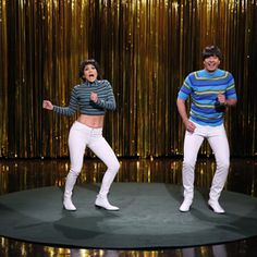 Jennifer Lopez and Jimmy Fallon Battle for Tight Pants Crown on 'Tonight Show' | Rolling Stone