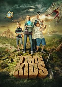 TIME KIDS - advertising visuals by Tomas Muller, via Behance