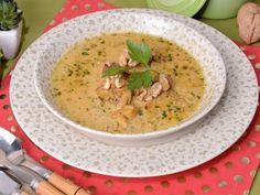Receta | Sopa de pollo y nueces - canalcocina.es