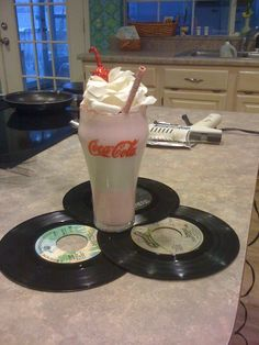 Centerpiece for 50's Party! - Continued!