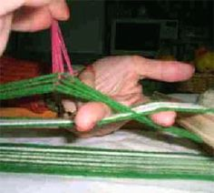 This page shows how to weave a Toba style sash with a pickup motif. Inkle Loom, Sash, Green Beans, Weave, Textiles, Girdles, Loom, Beading, Argentina