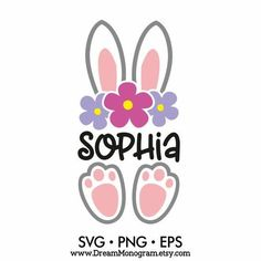 Bunny Svg Easter bunny Baby bunny Easter bucket design My Cajas Silhouette Cameo, Silhouette Cameo Projects, Easter Projects, Easter Crafts For Kids, Easter For Babies, Baby Bunnies, Easter Bunny, Easter Illustration, My First Easter