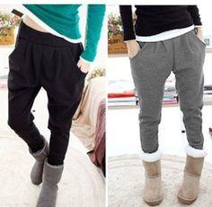 2013 New Autumn winter female harem hip hop women Skinny Sweatpants dance sports joggers Trousers Athletic Casual jogging pants-in Pants & C...