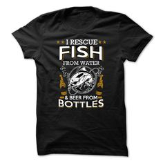 fish and beer T-Shirts, Hoodies. CHECK PRICE ==► https://www.sunfrog.com/Hobby/fish-and-beer.html?id=41382