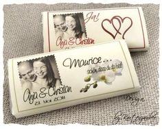 @@ 38 x  Schokolade mit Foto Platzkarte Gastnamen Give Away @@