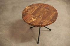 Brown Kiaat Side Table #ToTheSouth Tables, Objects, Brown, Furniture, Home Decor, Mesas, Decoration Home, Room Decor, Brown Colors