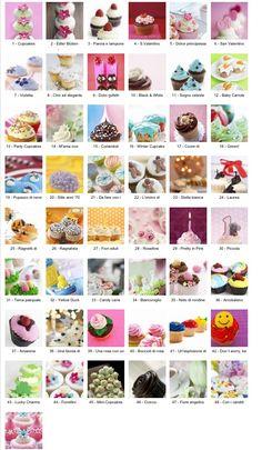 http://www.alfemminile.com/cucina/album807842/idee-decorazione-cupcake-p1.html